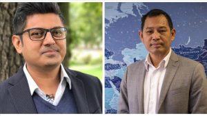 Rohingya campaigners Nay San Lwin and Maung Zarni